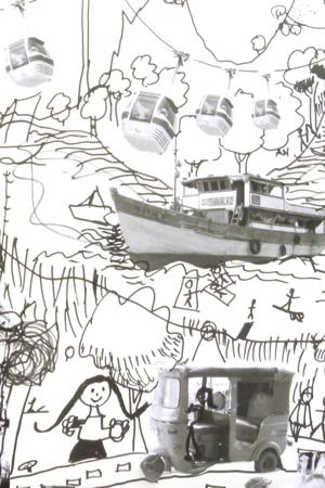 Bildausschnitt Zeichenkurs AIT ArchitekturSalon Köln