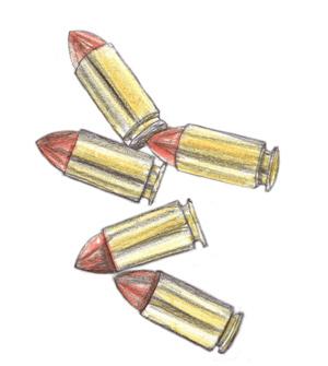 Zeichnung Patronenhülsen