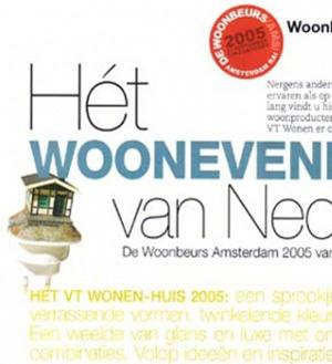 VT Woonen! Plugshed bei der Amsterdamer Woonbeurs