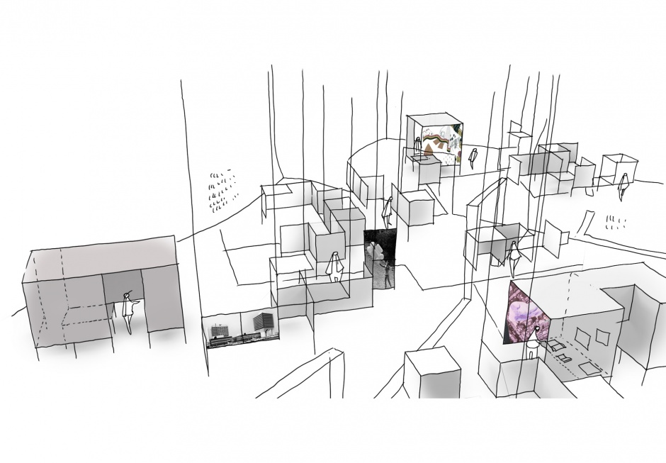 Struktur Ausstellung Rasch / Detail