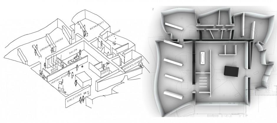 Bild Konzeption und Raumanordnung